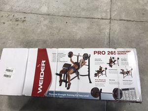 Brand New Weider Pro 265 Weight Bench for Sale in Wendell, NC