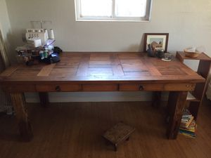 Mission style wooden table for Sale in Denver, CO