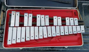 Glockenspiel, hammers, stand, hard case for Sale in Fort Defiance, VA
