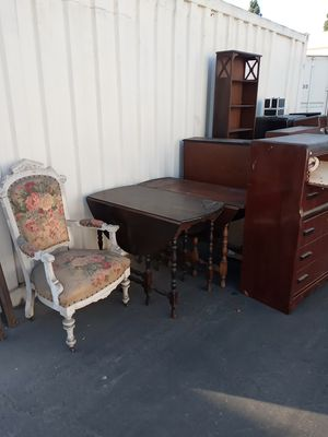 Antique furnitures ( Bulk not individual ) for Sale in La Habra Heights, CA