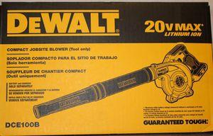 Dewalt compact jobsite blower for Sale in Phoenix, AZ
