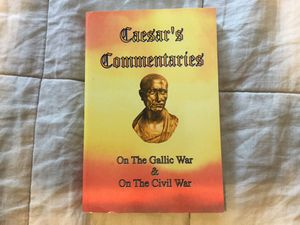 NEW!! Caesars Commentaries on the Gallic War for Sale in Christiansburg, VA