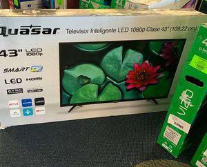 """Open box QUASAR Q43FST2 43"""" TV R for Sale in Rosemead, CA"""