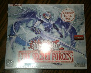 Yu-Gi-Oh Yugioh The Secret Forces Booster Box for Sale in New York, NY