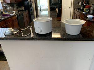 Kitchen gourmet crock pot for Sale in Cypress, TX
