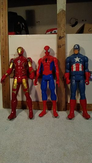 """Marvel Action Figures. 12"""" tall for Sale in San Antonio, TX"""