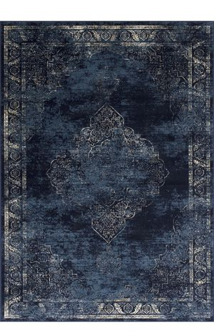 8x10 distressed design blue rug for Sale in Beverly Hills, CA