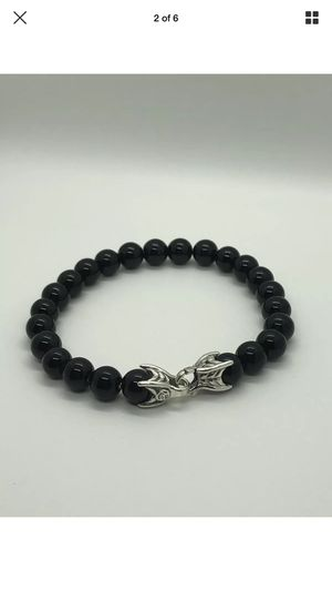 David Yurman Onyx and Sterling Silver Spiritual beads bracelet for Sale in San Francisco, CA