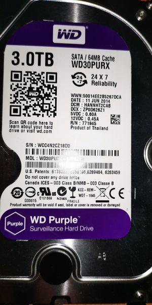 Wd Purple 3tb hard drive for Sale in Anaheim, CA