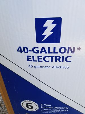Brand new 40 gal electric water heater for Sale in North Las Vegas, NV