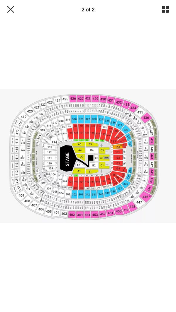 BTS concert tickets May 27, 2020 7:30 PM
