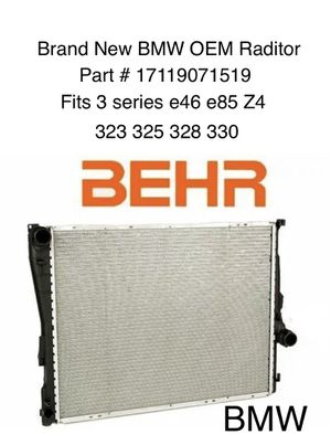 BMW Brand New Raditor OEM Behr - highest quality for Sale in Fountain Valley, CA