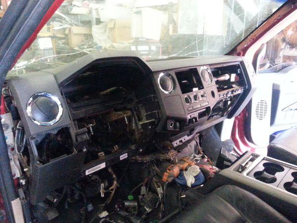F250 F350 Excursion Super Duty Dash Swap For Sale In Dallas Tx