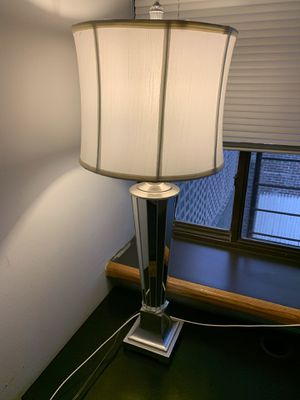 Mirrored lamp for Sale in Long Branch, NJ