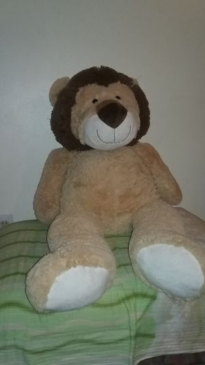 Big lion teddy bear for Sale in Hamtramck, MI