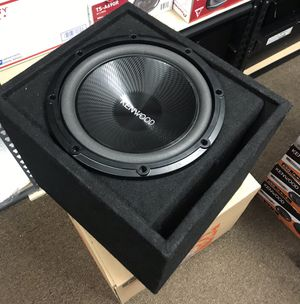 "Kenwood KFC-W120SVC Subwoofer 12"" Dual Voice Coil 1000W 4Ohm for Sale in Mount Prospect, IL"