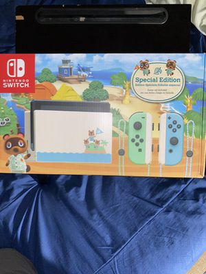 Nintendo switch animal crossing box for Sale in Escondido, CA