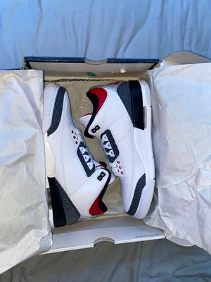 ((DEADSTOCK)) Jordan 3 Retro - SE Fire Red Denim (2020) for Sale in Elk Grove, CA