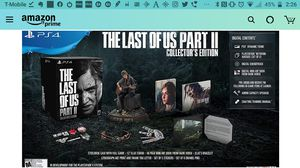 The last of us pt2 Collector's edition PS4 for Sale in Cleveland, OH
