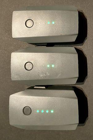 Batteries for Dji Mavic Pro for Sale in Wheeling, IL
