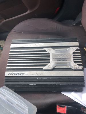 Kenwood amp 1000 watts 100$ for Sale in Chillum, MD