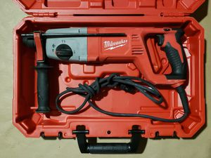 "Milwaukee 5262-21 1"" SDS Plus Rotary Hammer Drill Kit for Sale in Greenville, SC"