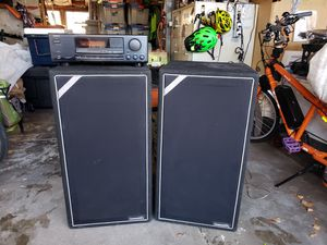 Stereo Community CS52 Speakers with Onkyo Receiver for Sale in Aurora, CO