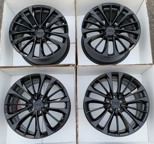 """19"""" Infiniti G37 factory wheels rims gloss black new staggered for Sale in Irvine, CA"""