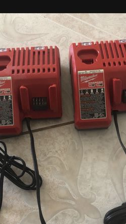 2 Milwaukee Chargers for Sale in Haines City,  FL