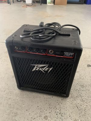 Peavy Micro Base Amplifier for Sale in San Diego, CA