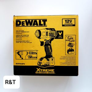 DEWALTXTREME 12-Volt Max Variable Speed Brushless Drive Cordless 3/8 Impact Wrench (2-Batteries Included) Item #1323373Model #DCF902F2 for Sale in Fullerton, CA