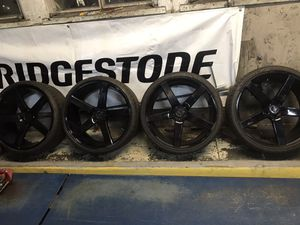 Niche 22 brand new tires and rims for Sale in Fontana, CA