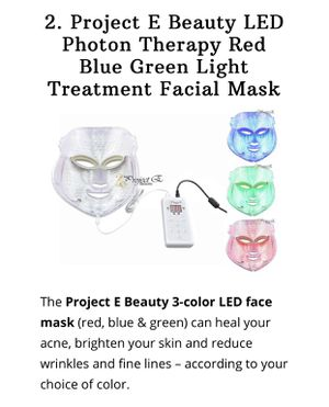 Light therapy face mask for Sale in Columbus, OH