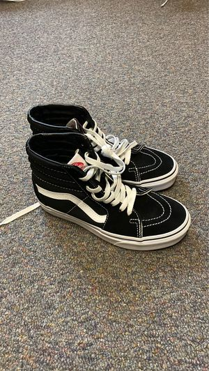 Black Hightop Vans Mens 4.5 Women 6 for Sale in Providence, RI