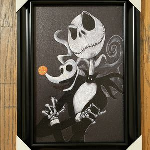 Nightmare Before Christmas Wall Decor 21.5x15.5 Inches for Sale in Oxnard, CA