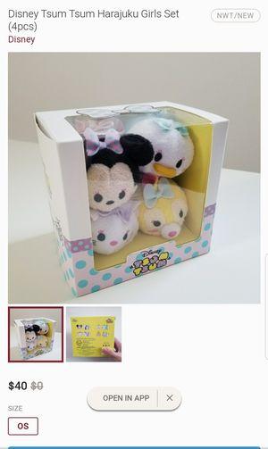 Disney Tsum Tsum Harijuku Set for Sale in Las Vegas, NV