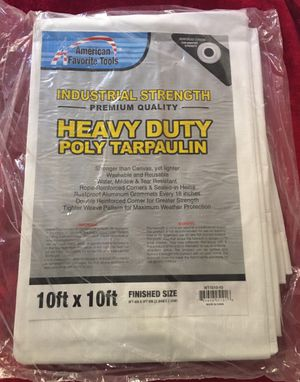 10ft by 10ft heavy duty tarp for Sale in Los Angeles, CA