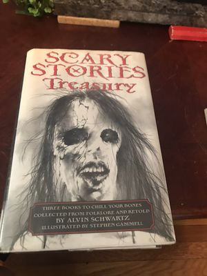 Scary Stories Treasury Book for Sale in Woonsocket, RI