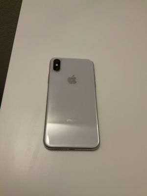 iPhone X White 64 GB for Sale in Colton, CA
