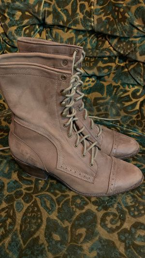 Jeffrey Campbell Women's Boots, size 7.5. Brown, lace up, ankle boots for Sale in Santa Monica, CA
