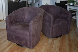 Swivel Suede Fabric Chairs for Sale in HALNDLE BCH, FL