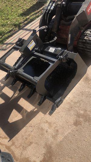 42-48 inch mini skid steer grapple bucket for Sale in Houston, TX