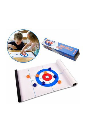 GEHARTY Tabletop Curling Game, Compact Curling Family Board Games for Kids and Adults Portable Mini Games for Sale in Industry, CA