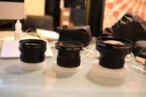 Sony Wide, Semi Fisheye, and Tele Conversion Lenses for Sale in San Diego, CA