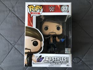 Funko Pop WWE AJ Styles collectible Toy Wrestling for Sale in Los Banos, CA