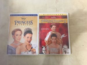 The Princess Diaries 1&2 DVD for Sale in US