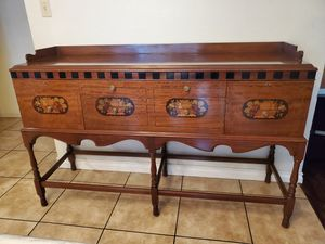 Mid century vintage buffet table for Sale in Downey, CA