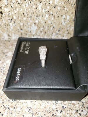 1/2 Silver engagement ring $350 obo. {contact info removed} for Sale in Las Vegas, NV