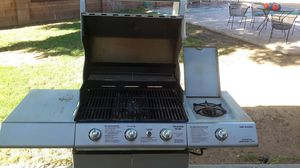 Charmglow Stainless Steel BBQ Grill with side burner for Sale in Scottsdale, AZ