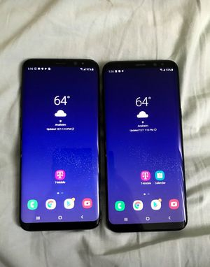 2 Samsung Galaxy s8 plus Tmobile unlocked for Sale in Anaheim, CA